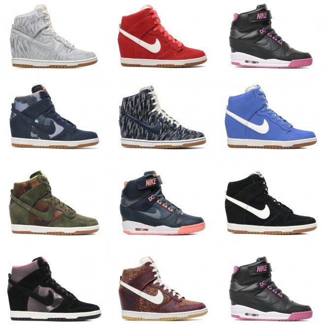 nike dunk sky high revolution les nouvelles baskets. Black Bedroom Furniture Sets. Home Design Ideas