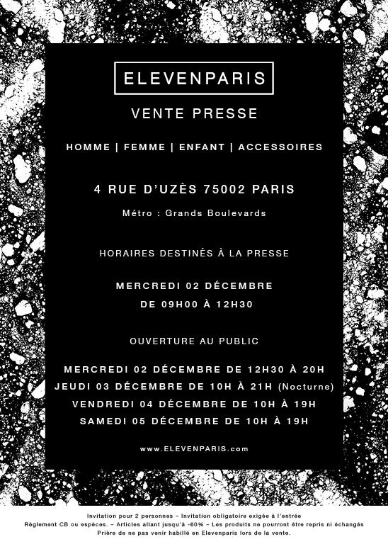 invitation-vente-presse-eleven-paris-decembre-2015-paris