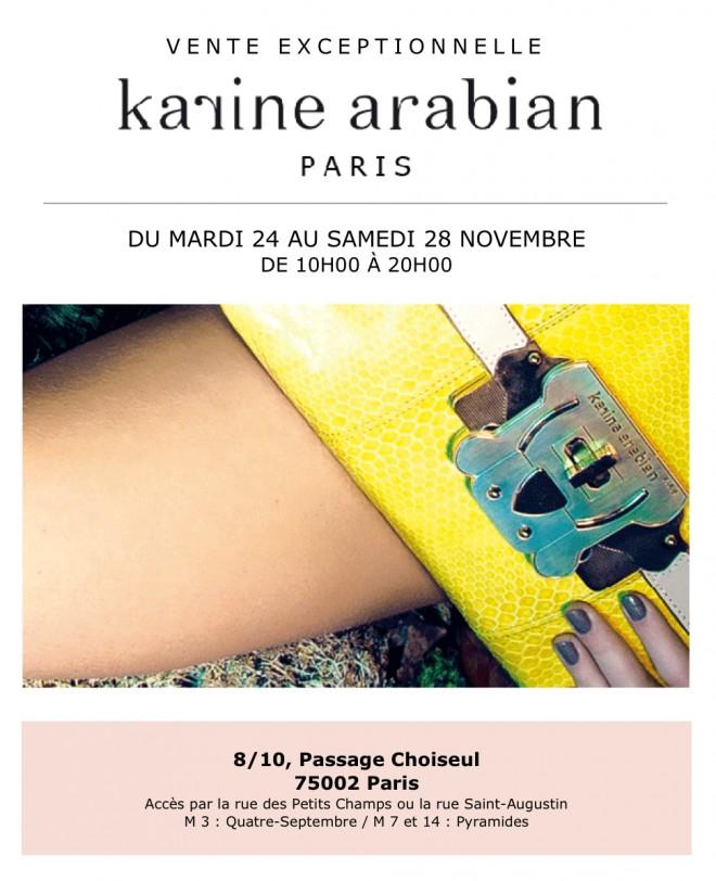 invitation-vente-presse-karine-arabian-novembre-2015-paris