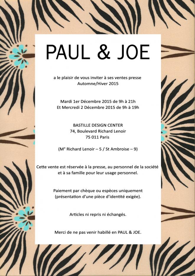 invitation-vente-presse-paul-and-joe-decembre-2015-paris