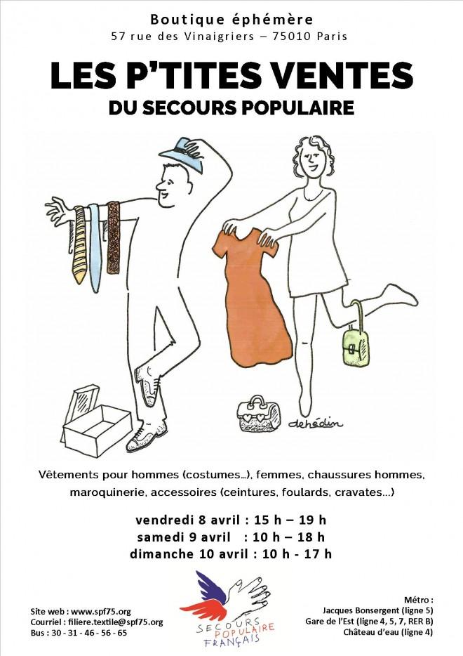 flyer-invitation-vente-privée-secours-populaire
