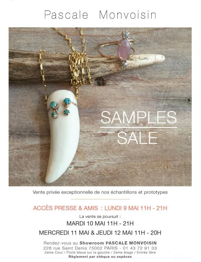 invitation-flyer-vente-presse-bijoux-PASCALE-MONVOISIN