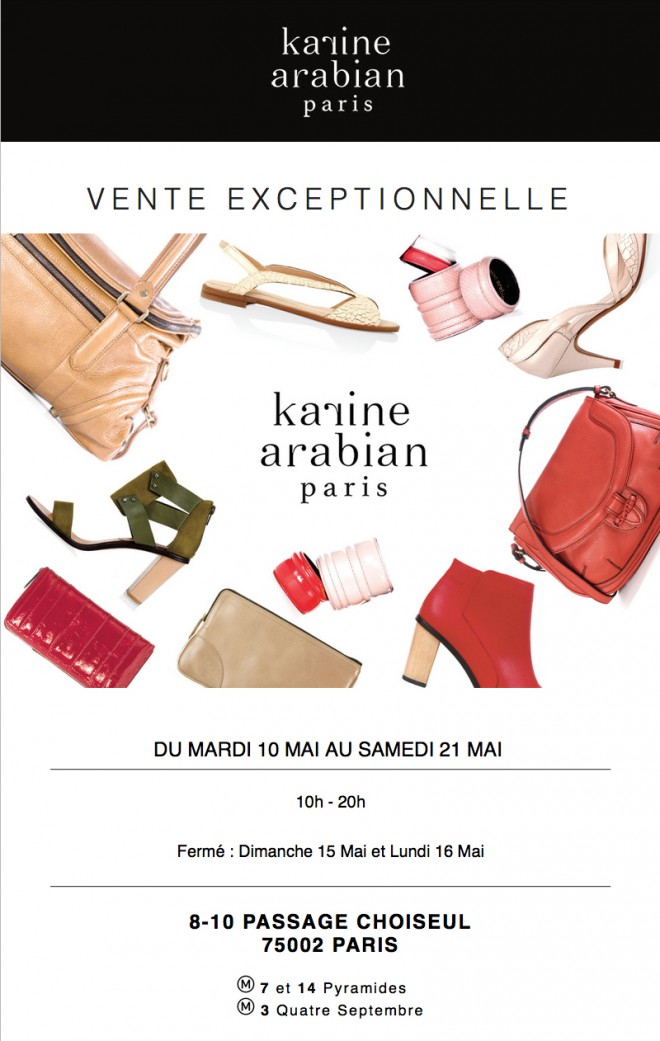 invitation-flyer-ventes-presse-KARINE-ARABIAN