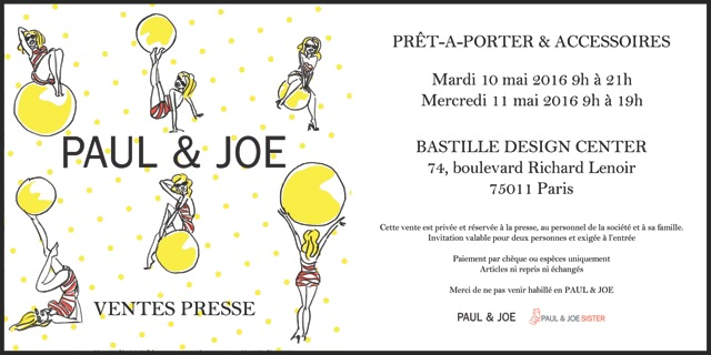 invitation-flyer-ventes-presse-PAUL&JOE