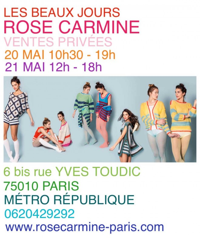 invitation-vente-presse-rose-carmine
