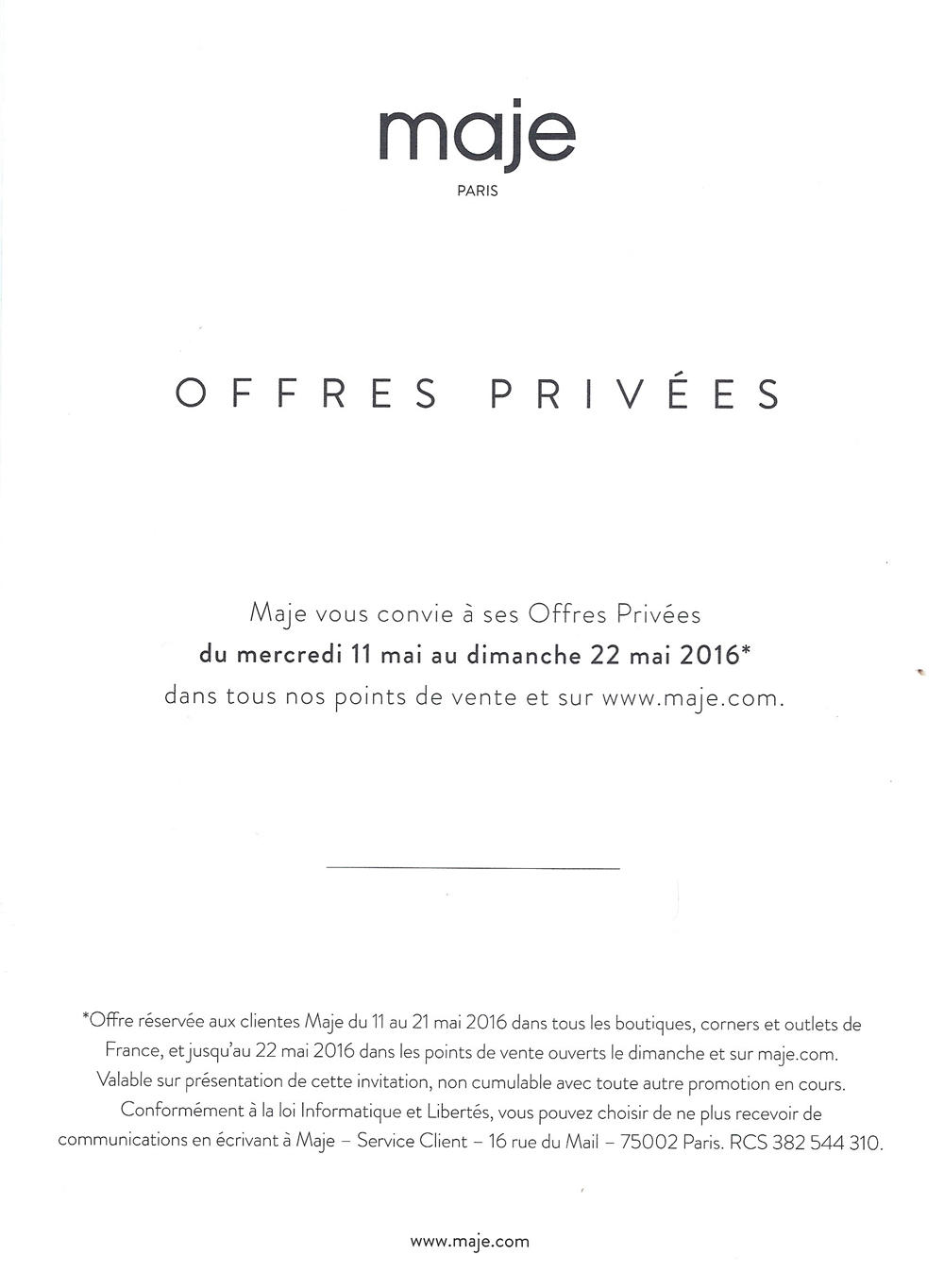 invitation-vente-privee-MAJE
