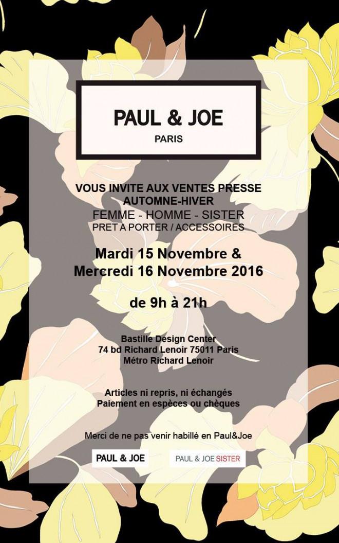 vente-presse-paul-and-joe-novembre-2016