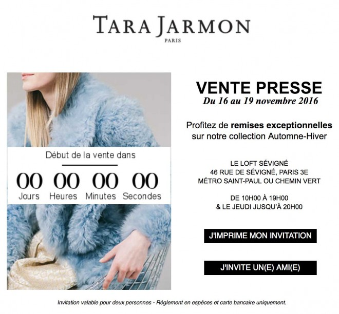 vente-presse-tara-jarmon-paris-novembre-2016