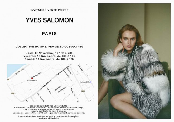 vente privee salomon