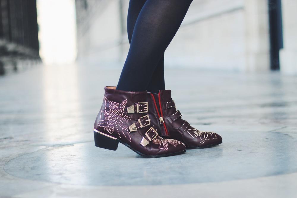 8f87df9084 Ersatz boots CHLOE Susanna