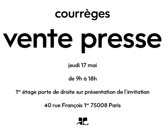 vente-presse-courreges-mai-2018