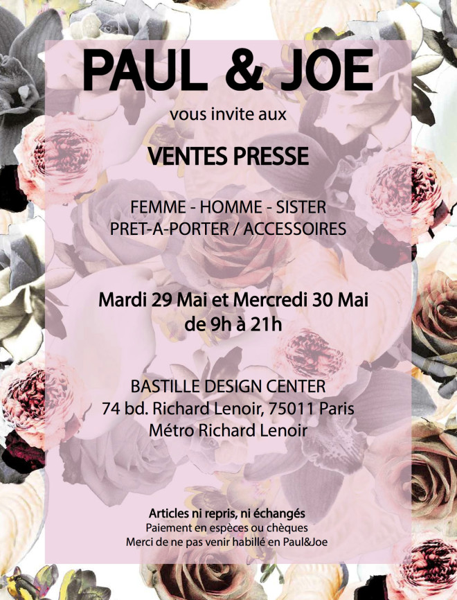 vente-presse-paul-and-joe-paris-juin-2018