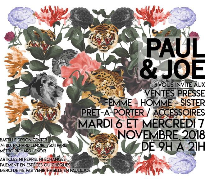 vente-presse-PAUL-and-joe-novembre-2018