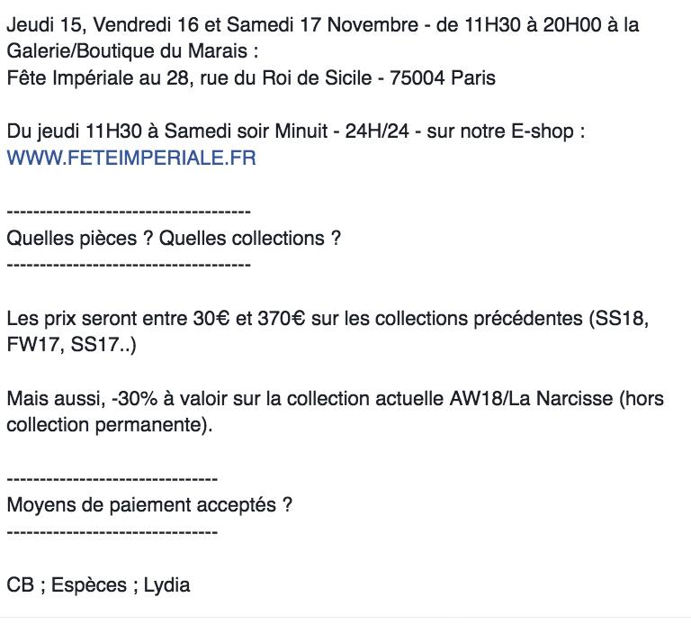 vente-presse-fete-imperiale-paris-novembre-2018-