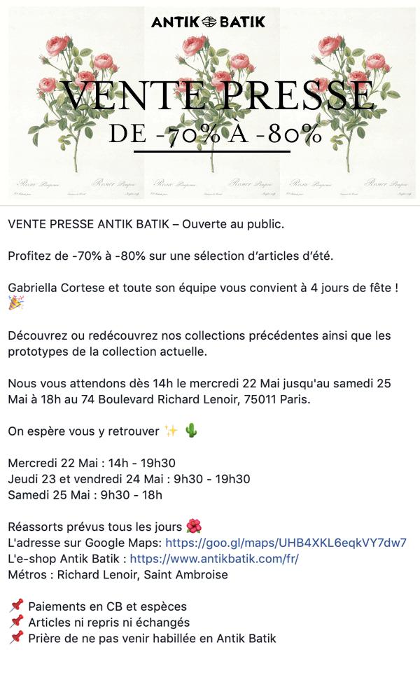 vente-presse-ANTIK-BATIK-flyer-Paris-mai-2019
