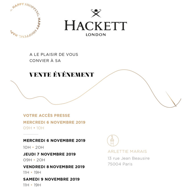 vente-presse-hackett-london-Paris-novembre-2019