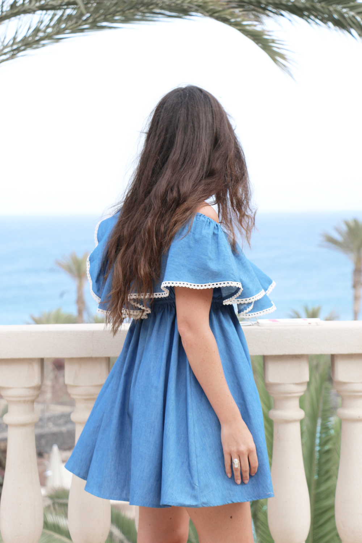 off-shoulder-ruffle-denim-dress-1